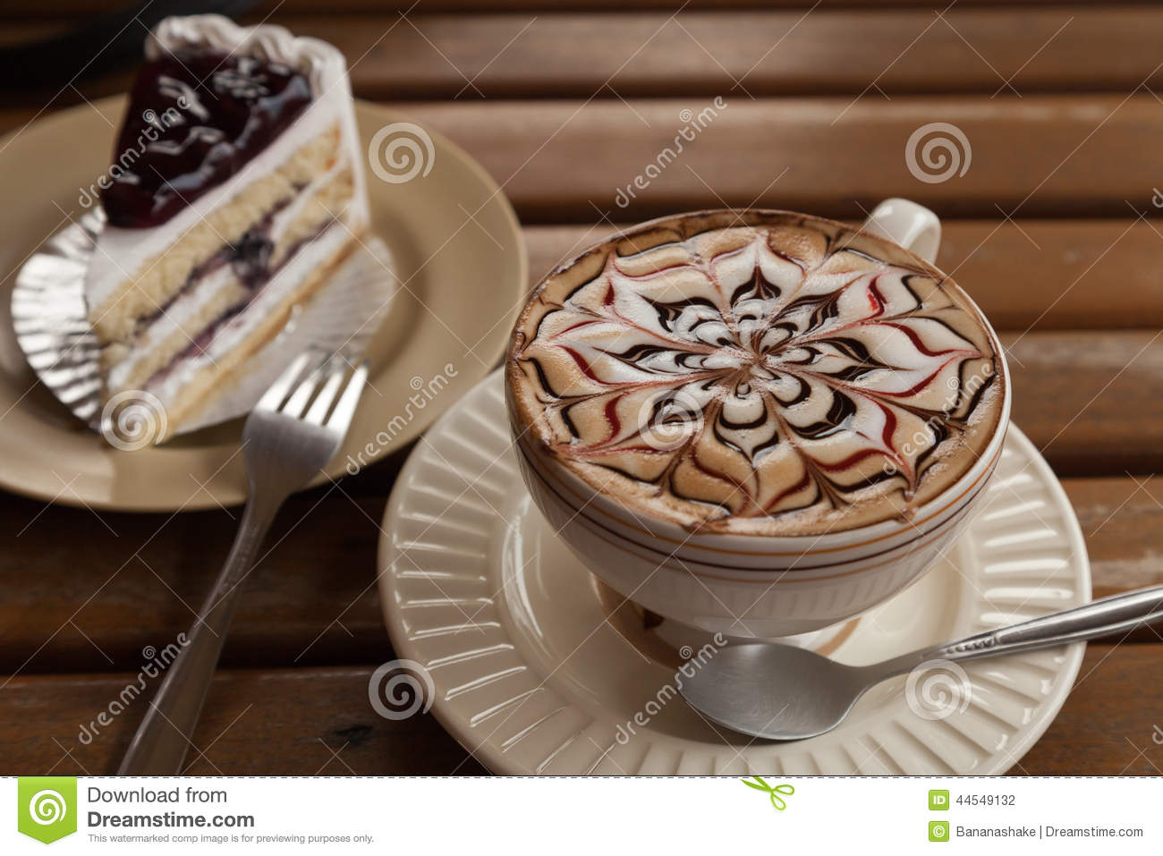 Coffie Cake To Decorate