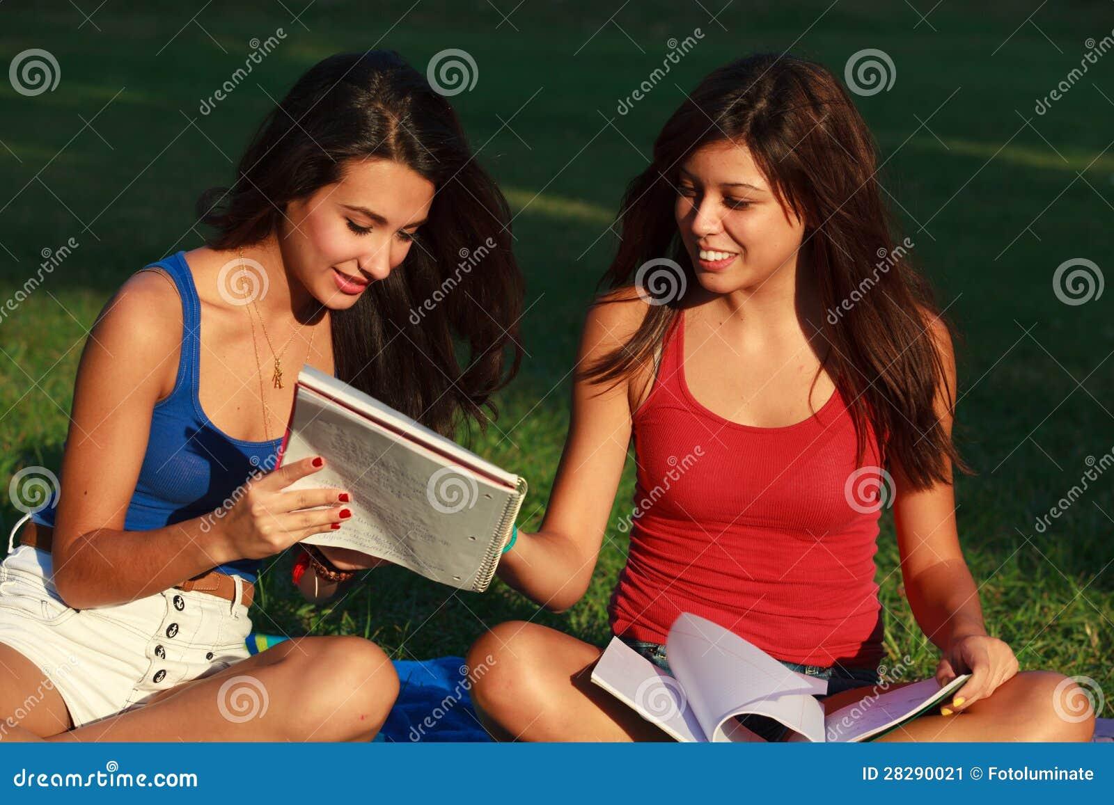 Beautiful college girls
