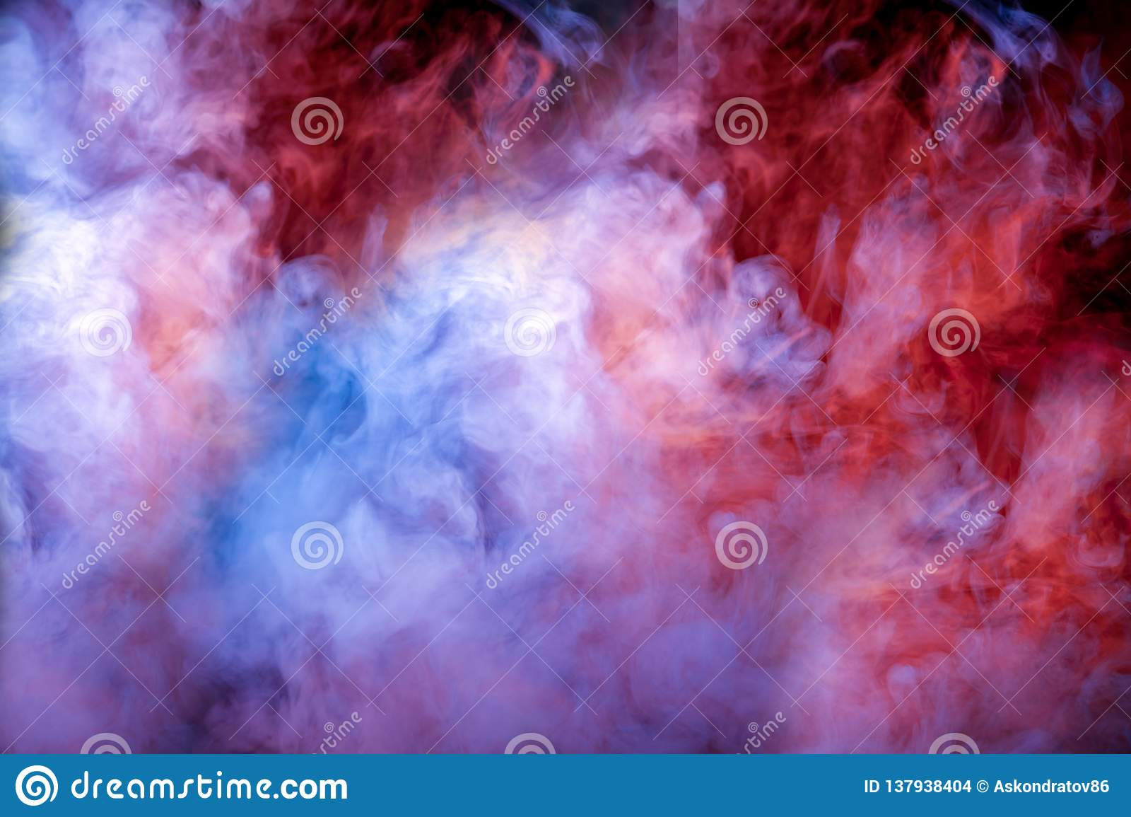 The Beautiful Color Combination Of Blue, Pink, Violet And ...