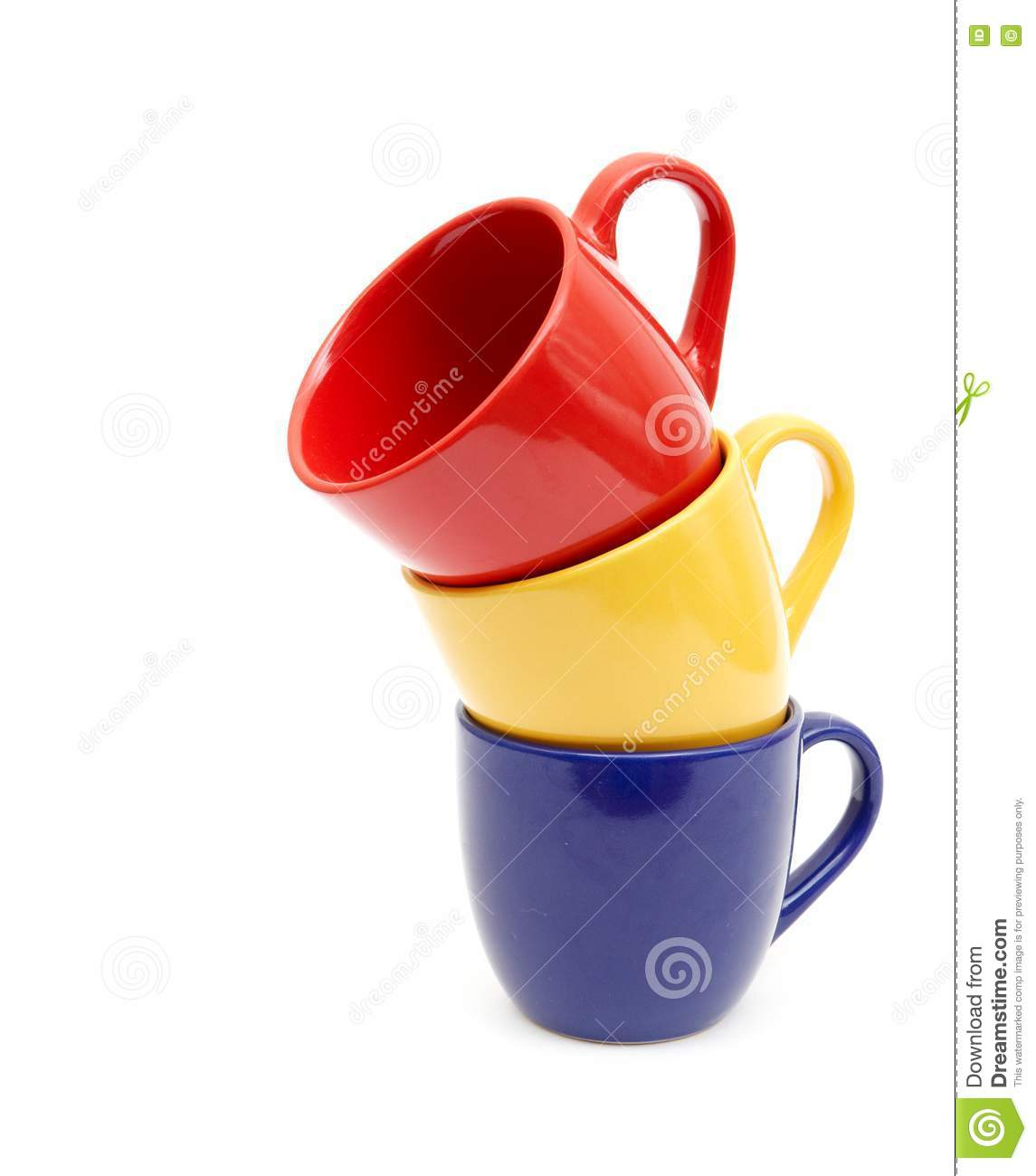 Beautiful Color Cups Stock Photos Image 17738333