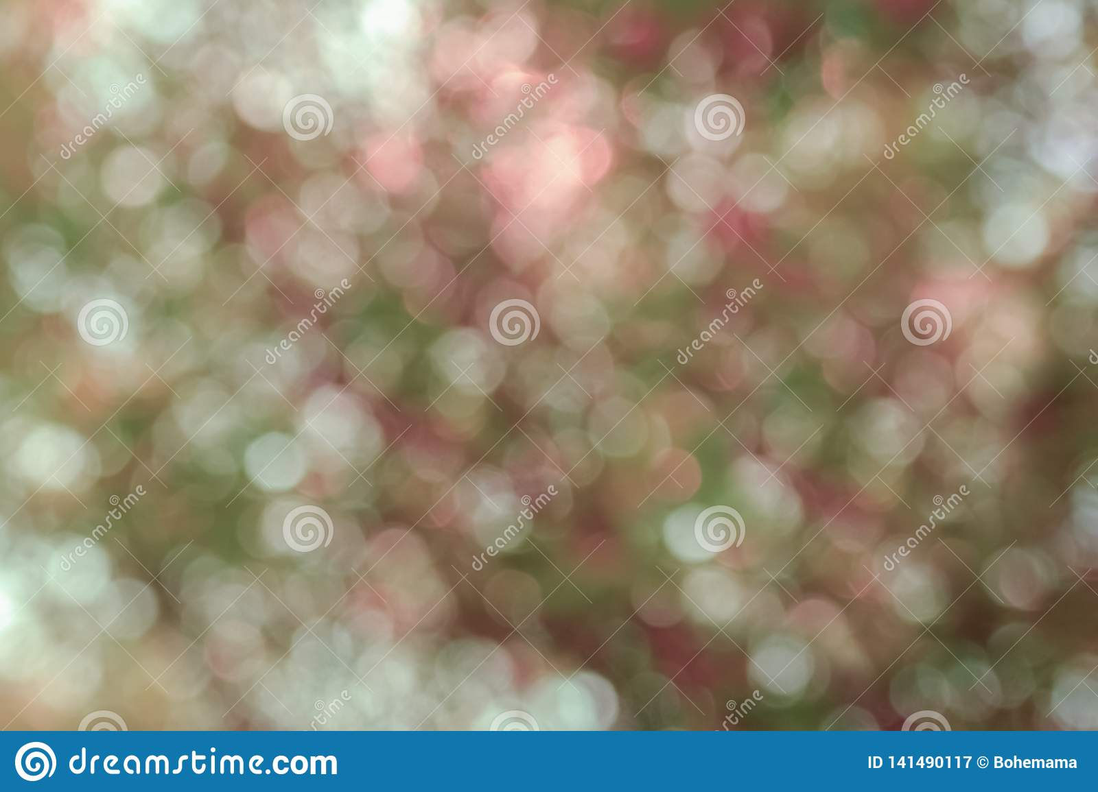 Beautiful colorful abstract spring and summer background, bokeh from trees