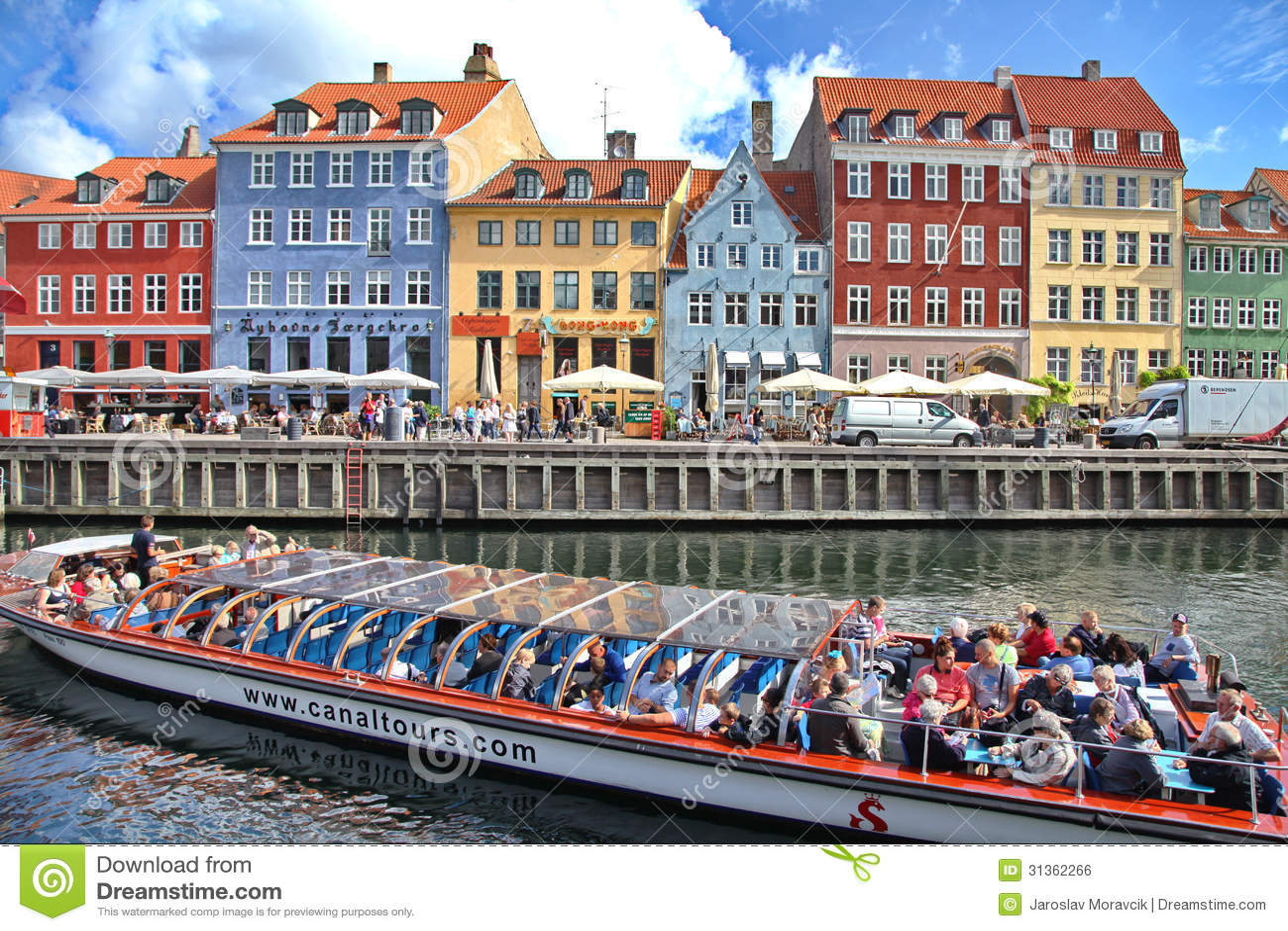 Beautiful Colorful Buildings In Copenhagen Editorial Photo - Image: 31362266