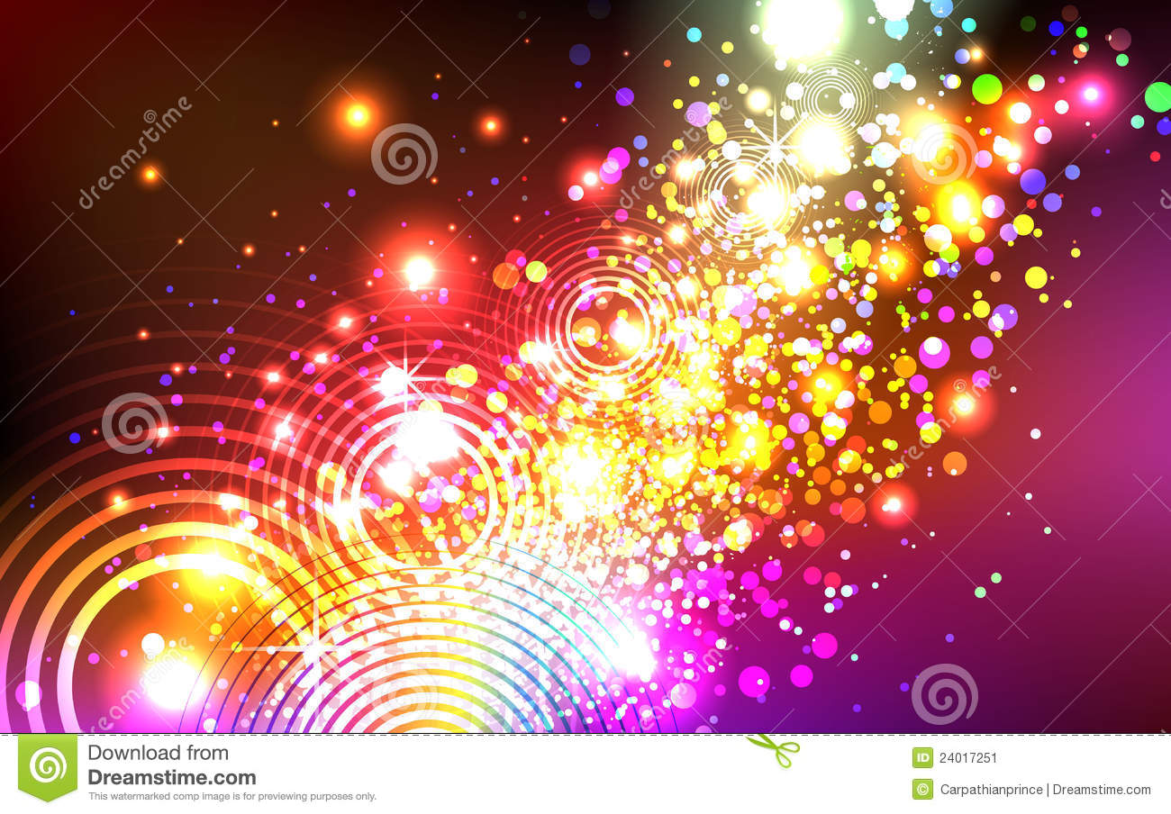 Beautiful Colorful Explosion Stock Vector Illustration