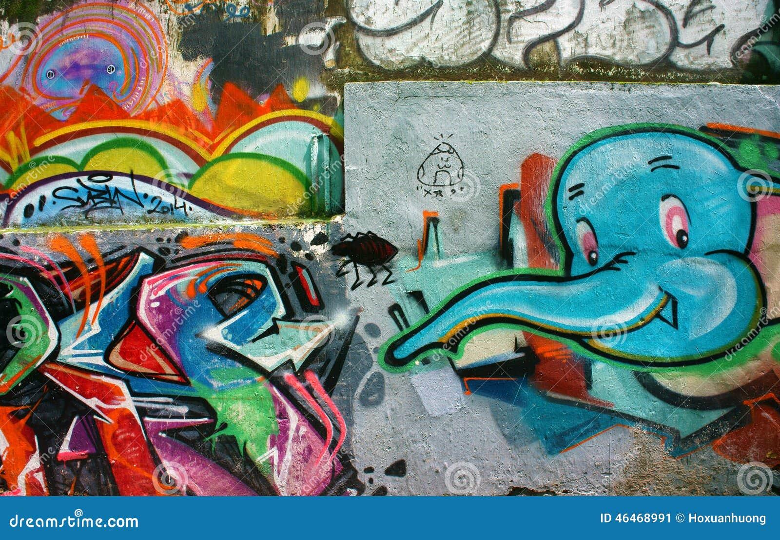Colorful Graffiti Art The Image Kid Has It