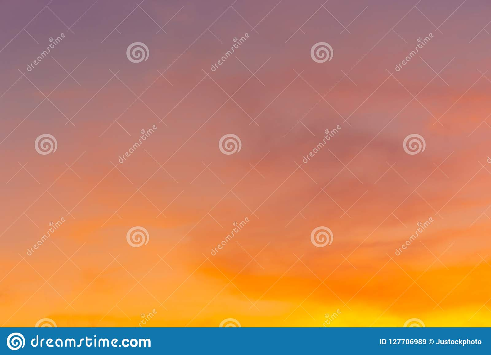 beautiful colorful sunset sky and cloud nature background for
