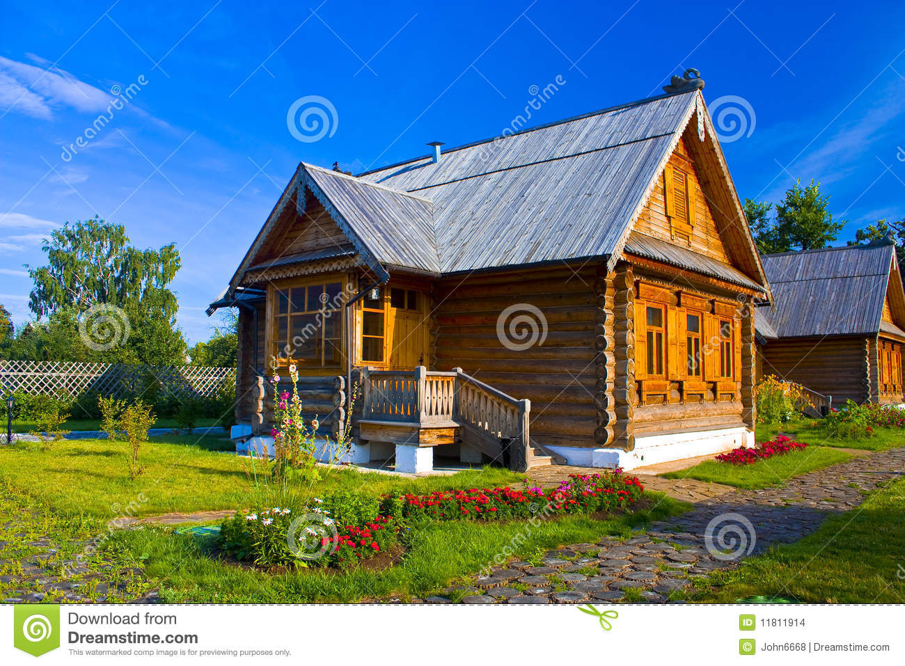 Beautiful country house stock images image 11811914 for Beautiful country homes