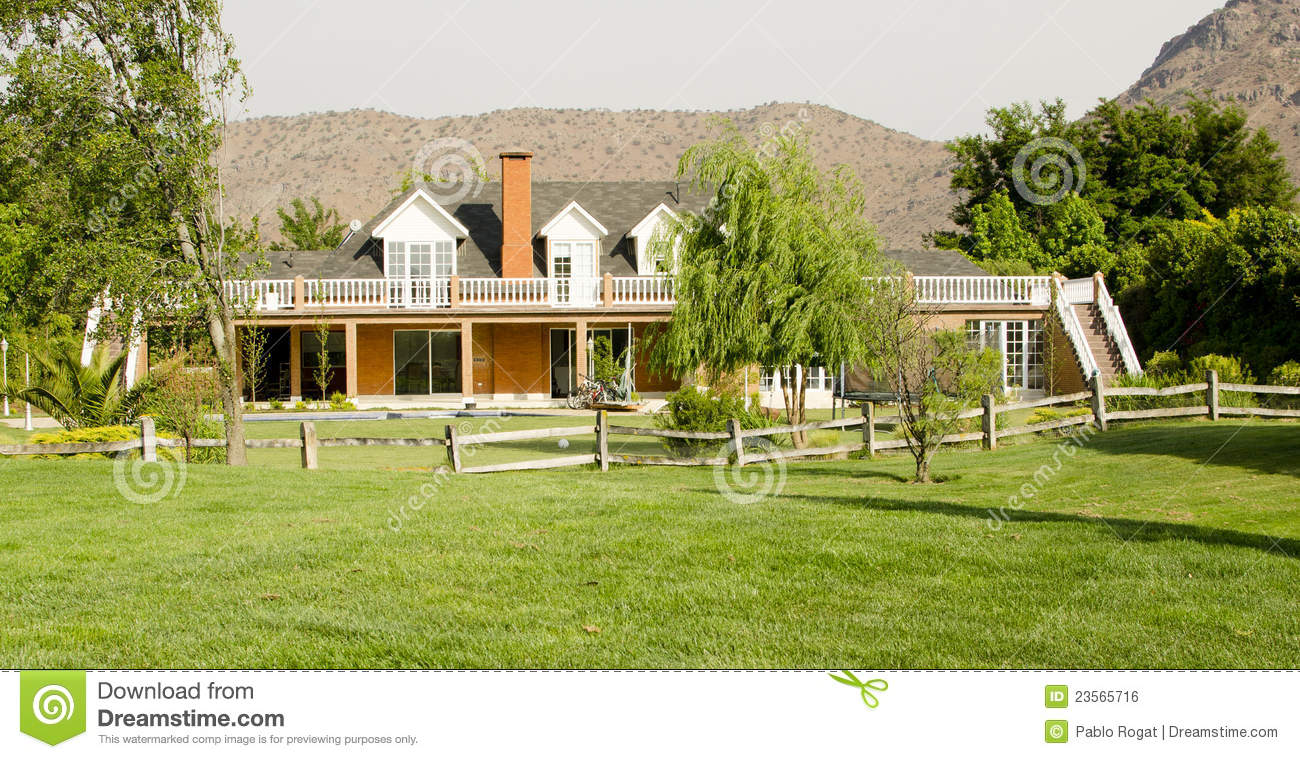 A beautiful country house royalty free stock image image for Beautiful country homes