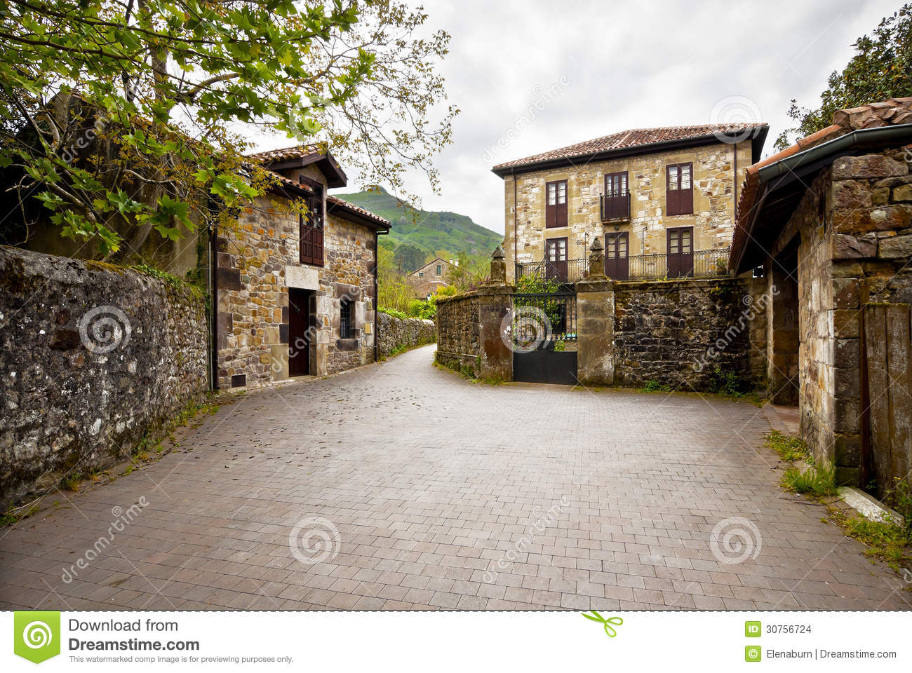 Beautiful country house stock photo image of history for Beautiful country homes