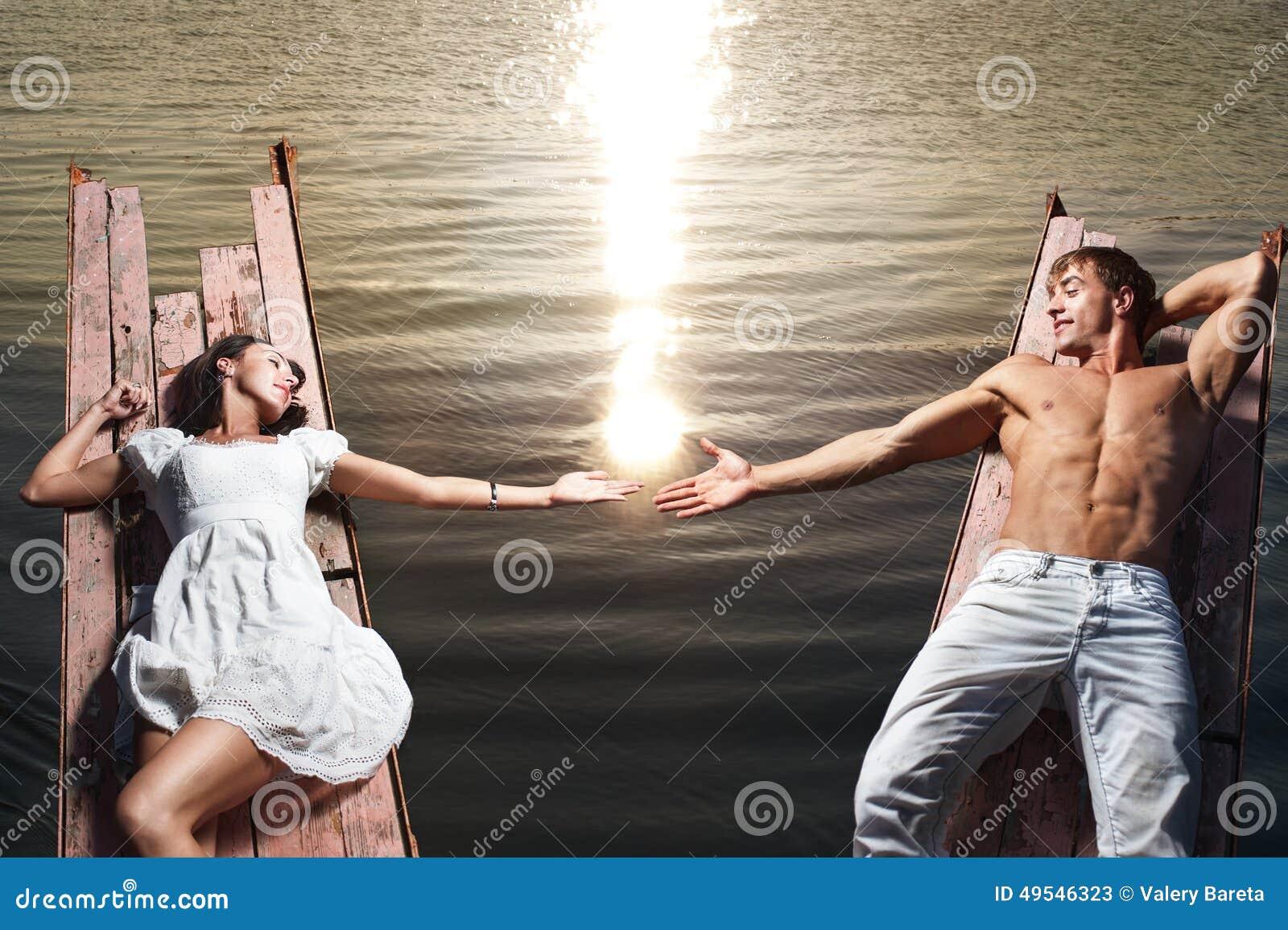 Beautiful couple love