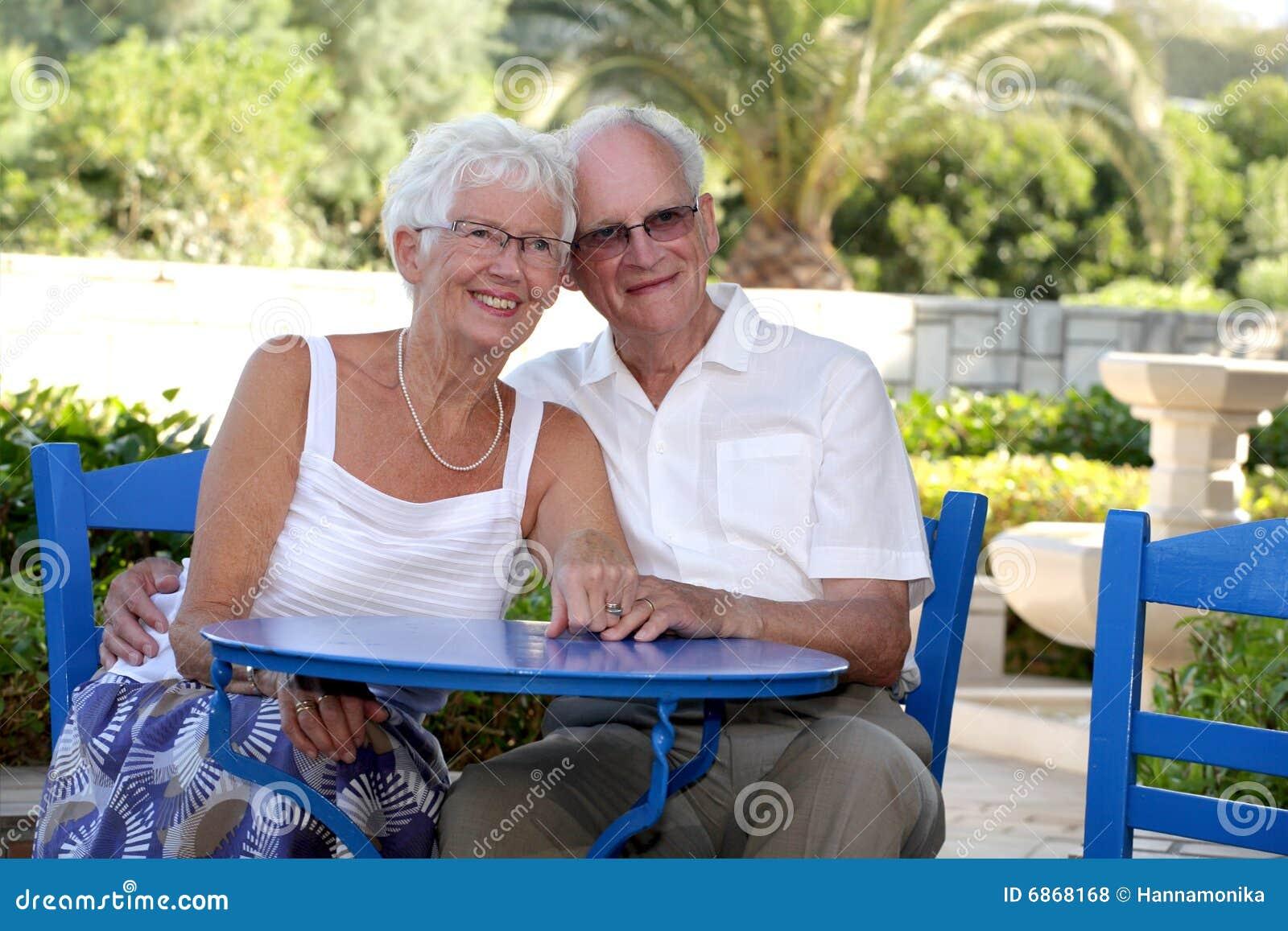 Beautiful couple senior