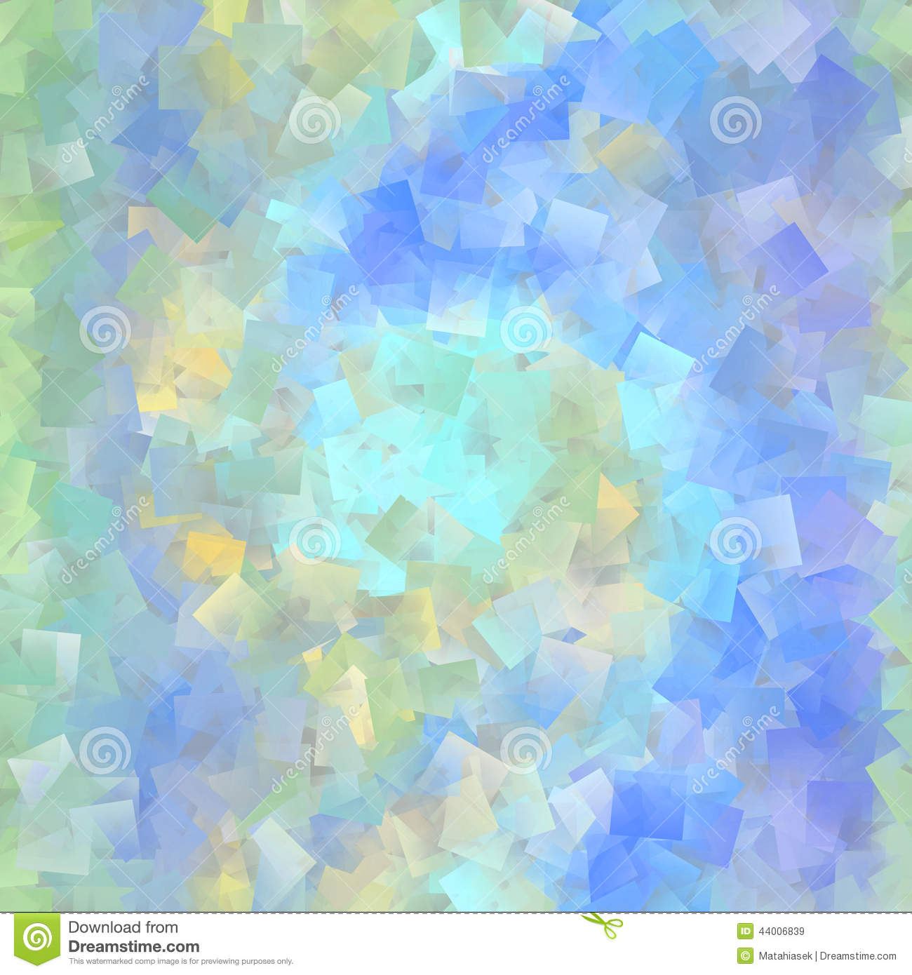 Beautiful cubist mosaic in pastel colors stock photo for Beautiful pastel colors