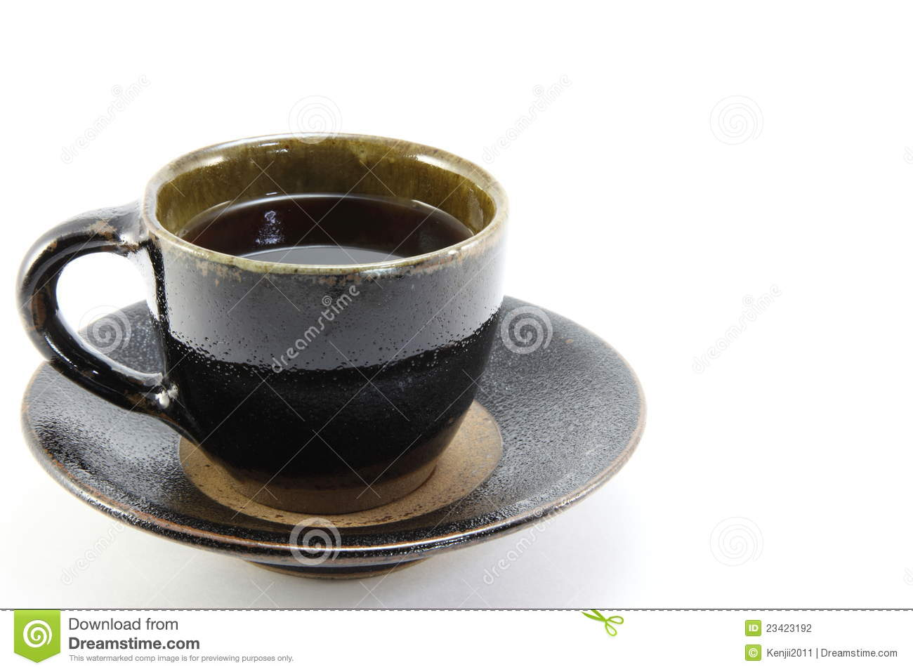 Beautiful Cup Of Coffee Stock Photography Image 23423192