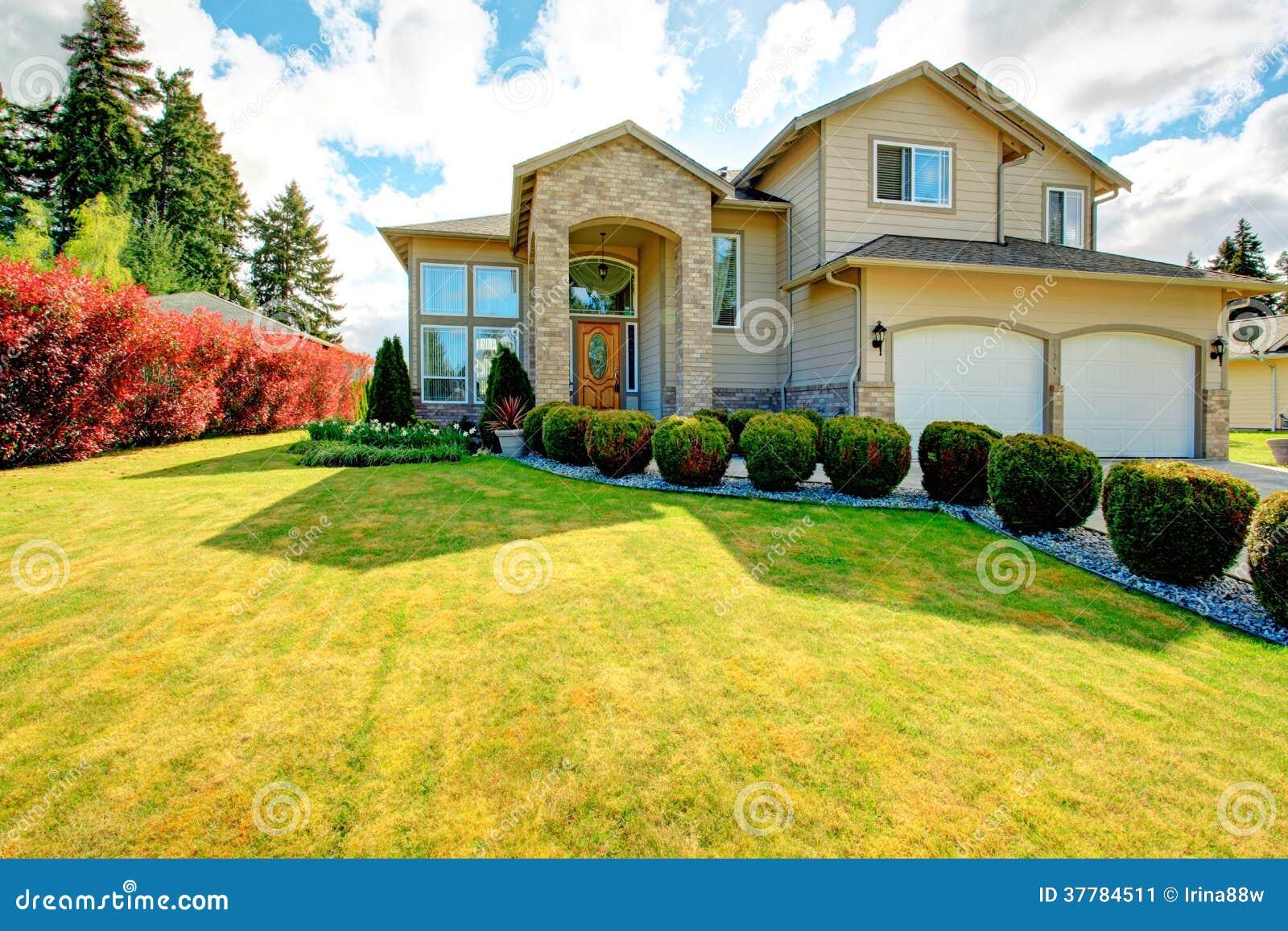 Exterior Design Idea Stock Image