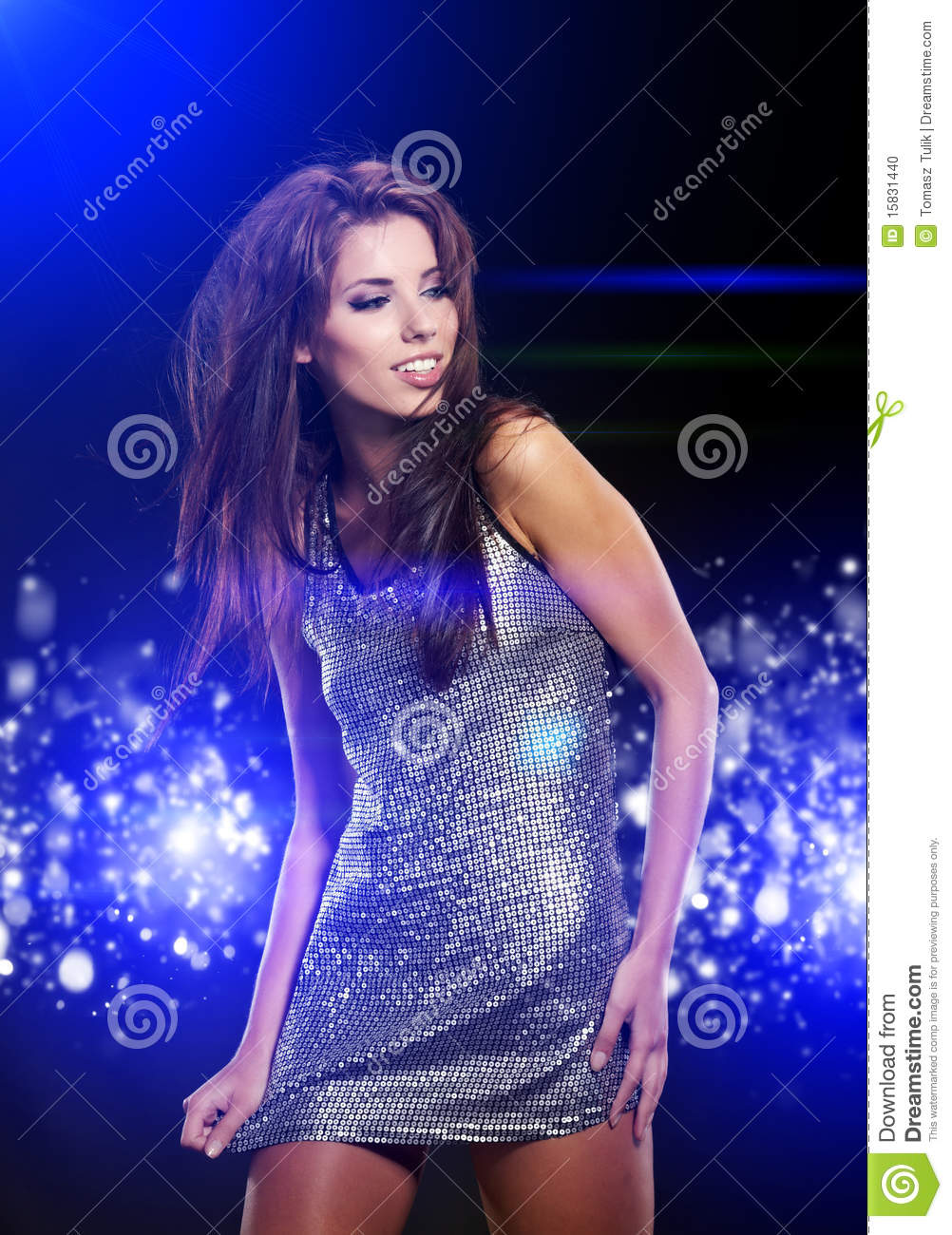 Beautiful Dancing Girl Stock Photo Image 15831440