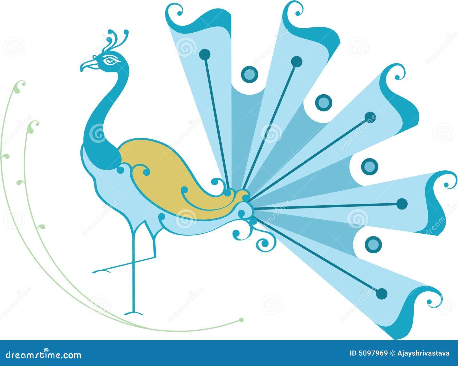 Peacock Dancing Sketch Beautiful Dancing Peacock