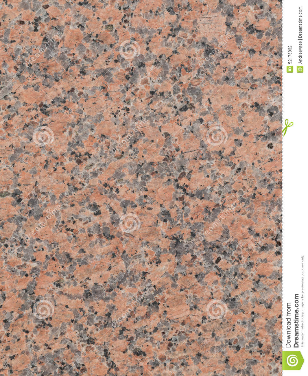 Pink To Gray Granite : Beautiful dark mottled granite stock photo image of