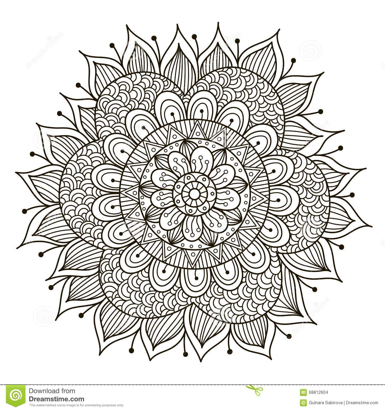 kaleidoscope medallion coloring pages pictures to pin on