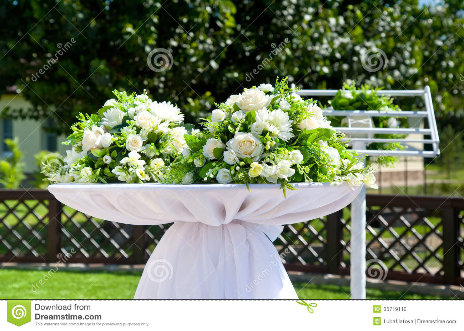 Beautiful Decor beautiful decor for wedding stock photo - image: 35719110