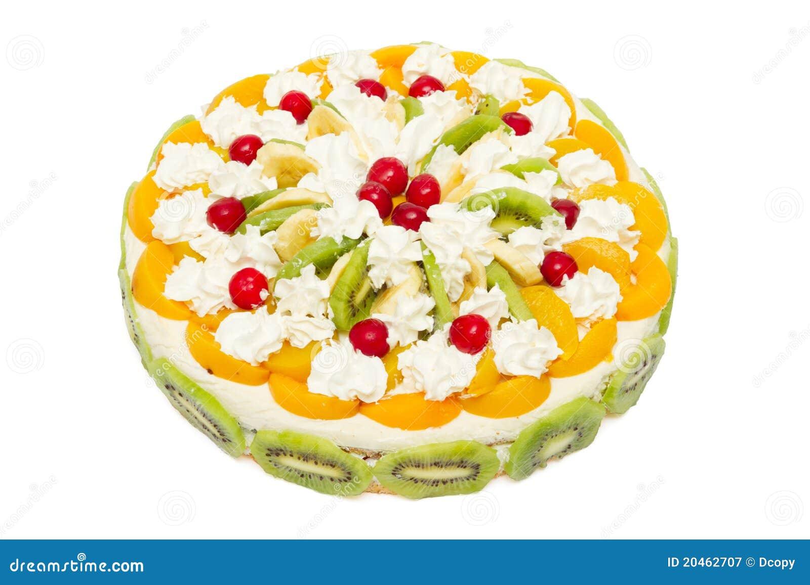 Beautiful Fruit Cake Images : Beautiful Decorated Fruit Cake Royalty Free Stock ...
