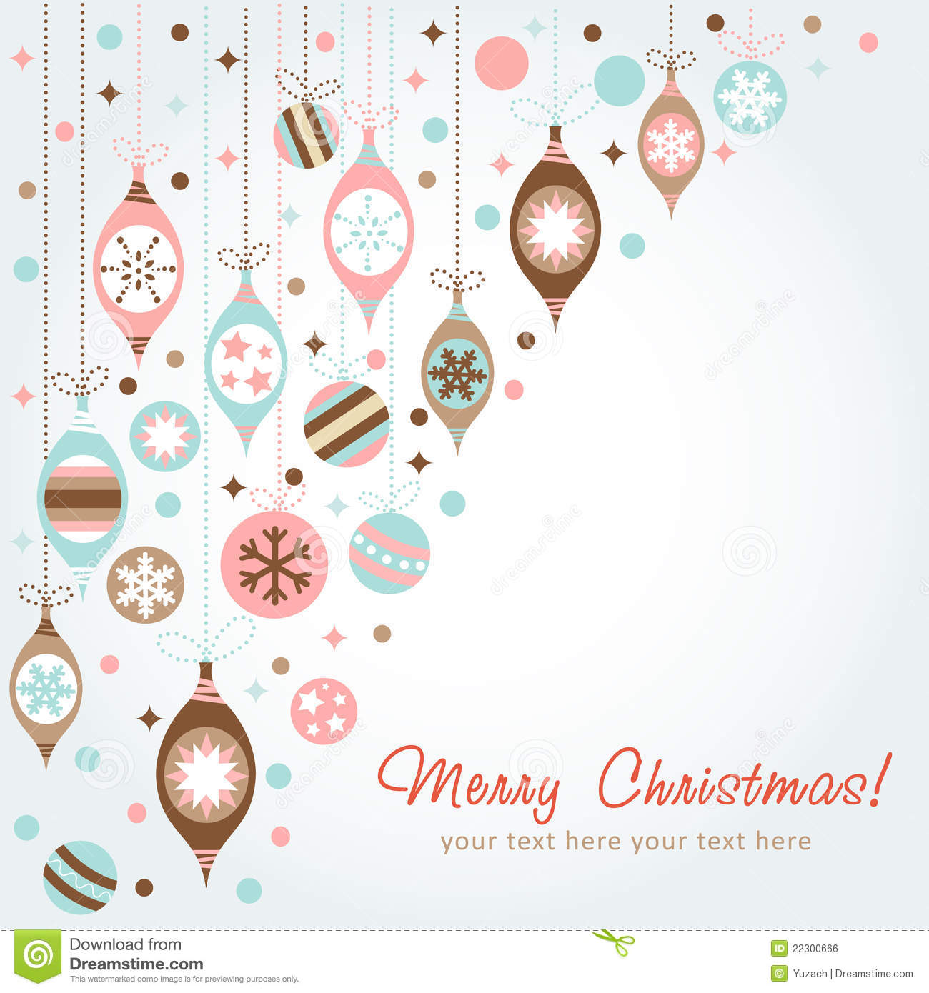 Beautiful design christmas greeting card stock vector for Design for christmas