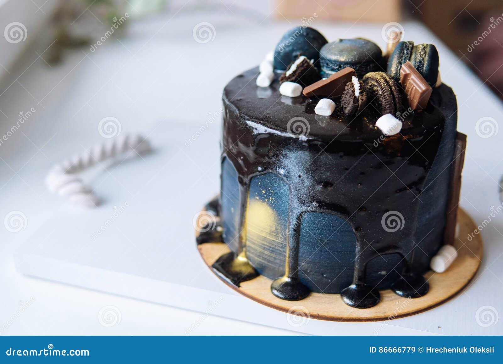 Beautiful Designer Chocolate Cake Stock Image Image Of Sweet