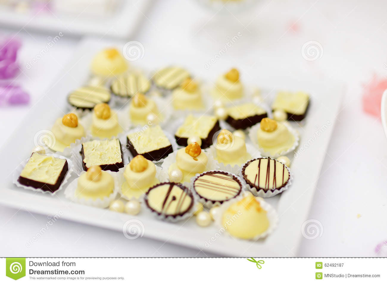Excellent Beautiful Desserts Sweets And Candy Table Stock Image Download Free Architecture Designs Embacsunscenecom