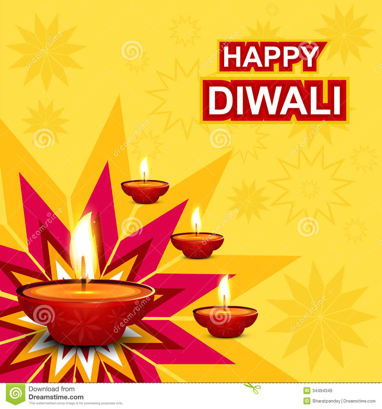 Beautiful diwali greeting card stock illustration illustration beautiful diwali greeting card kristyandbryce Image collections