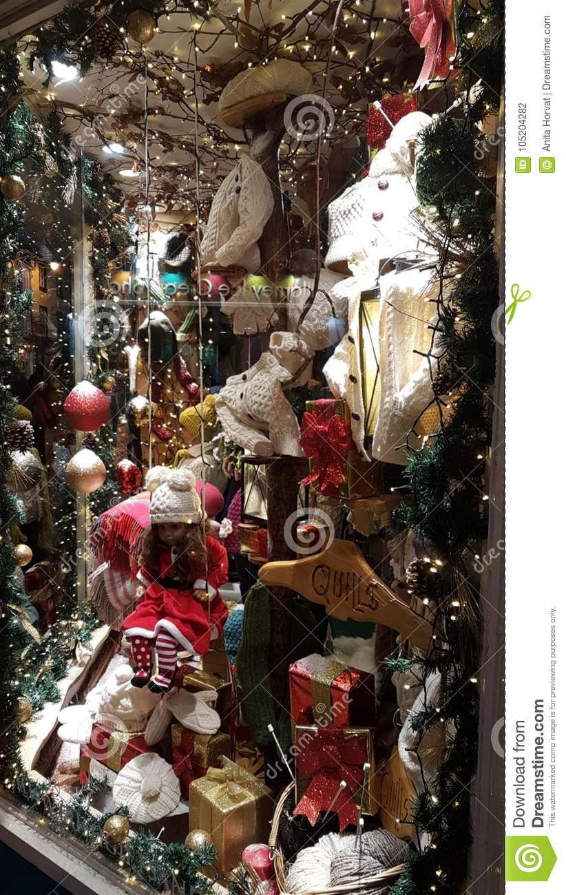 b80acfda385ec Lots of Christmas ornaments and sparkling things. Woolly hats and scarves