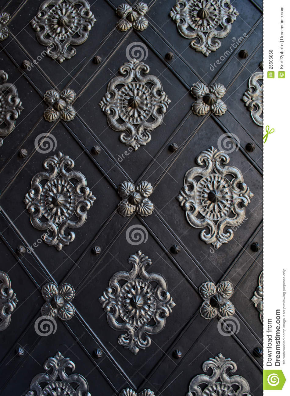 Beautiful door of a church in prague royalty free stock for Door z prague