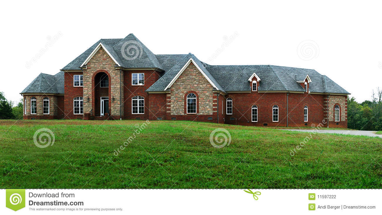 Beautiful dream home stock photography image 11597222 for Beautiful dream homes