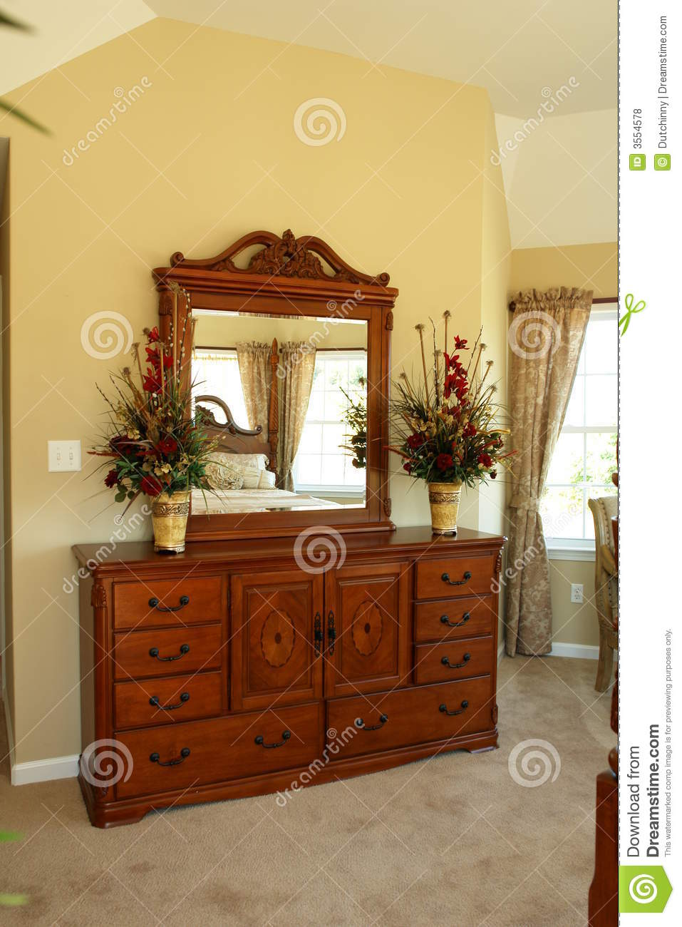 Beautiful dresser in bedroom royalty free stock photos image 3554578 Beautiful wooden furniture