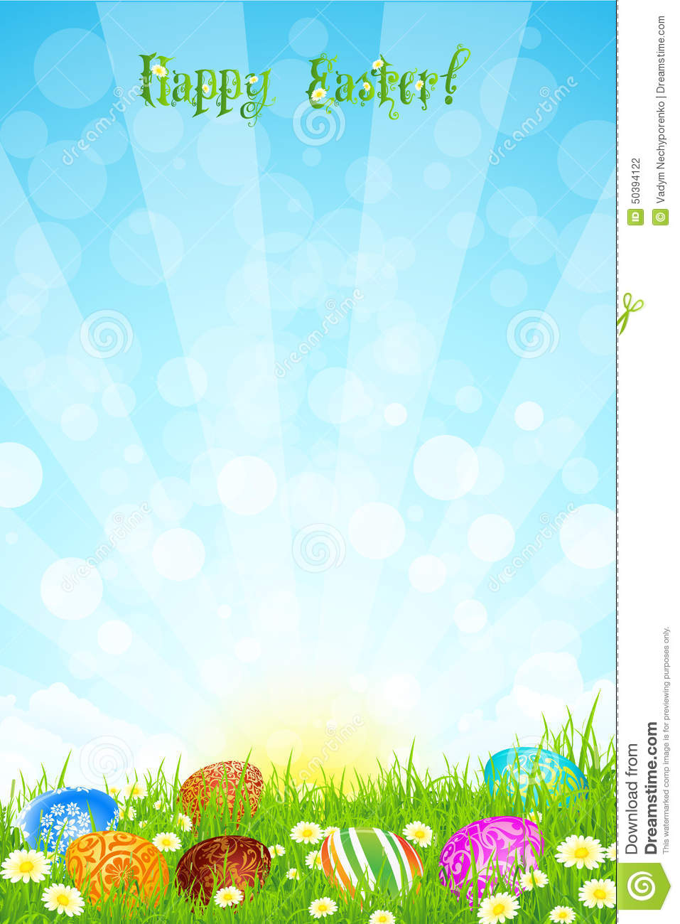 beautiful easter eggs background - photo #32