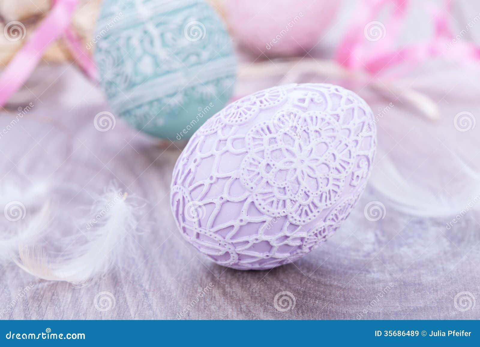 Beautiful easter egg decoration colorfull eggs seasonal for Beautiful pastel colors