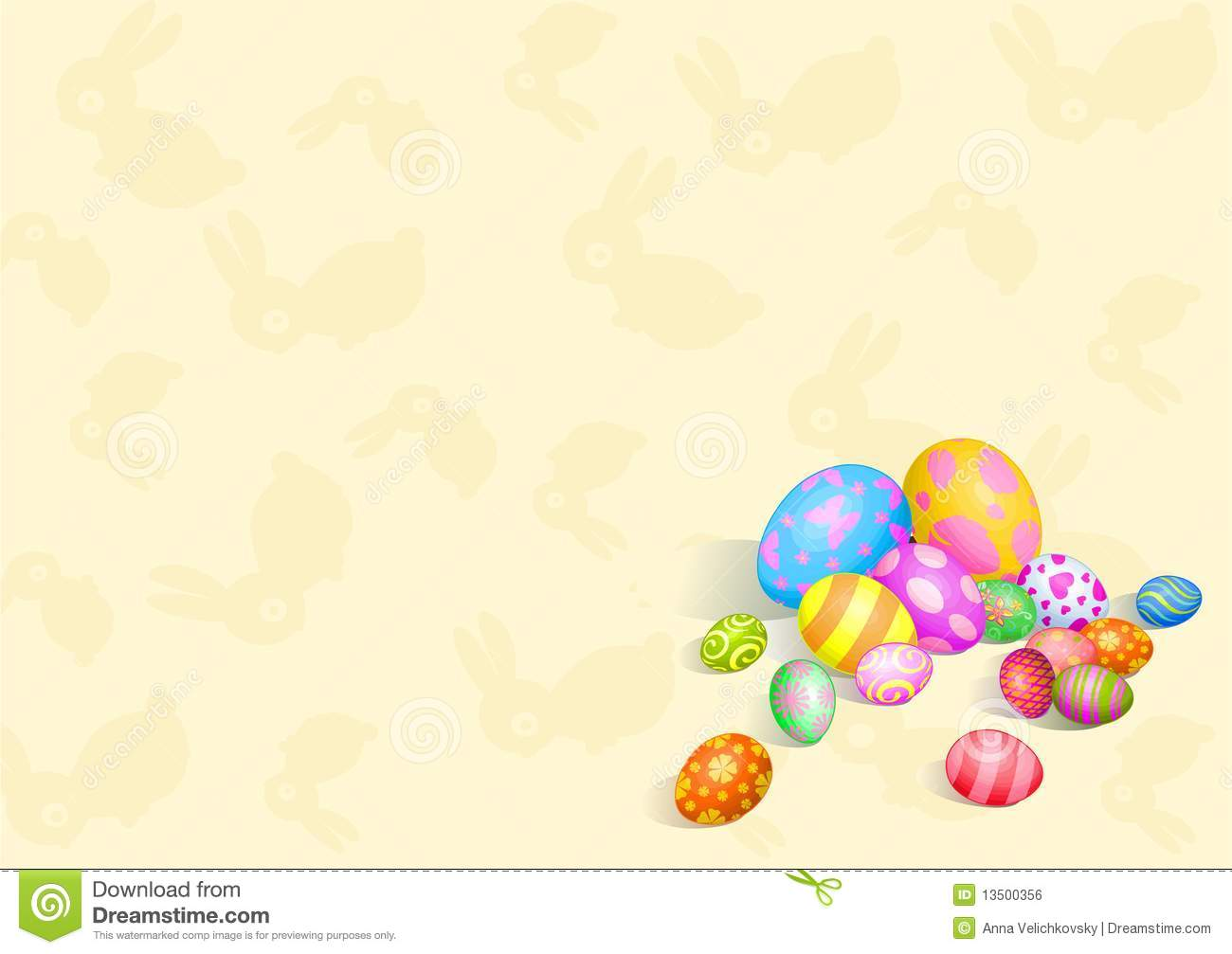 beautiful easter eggs background - photo #19