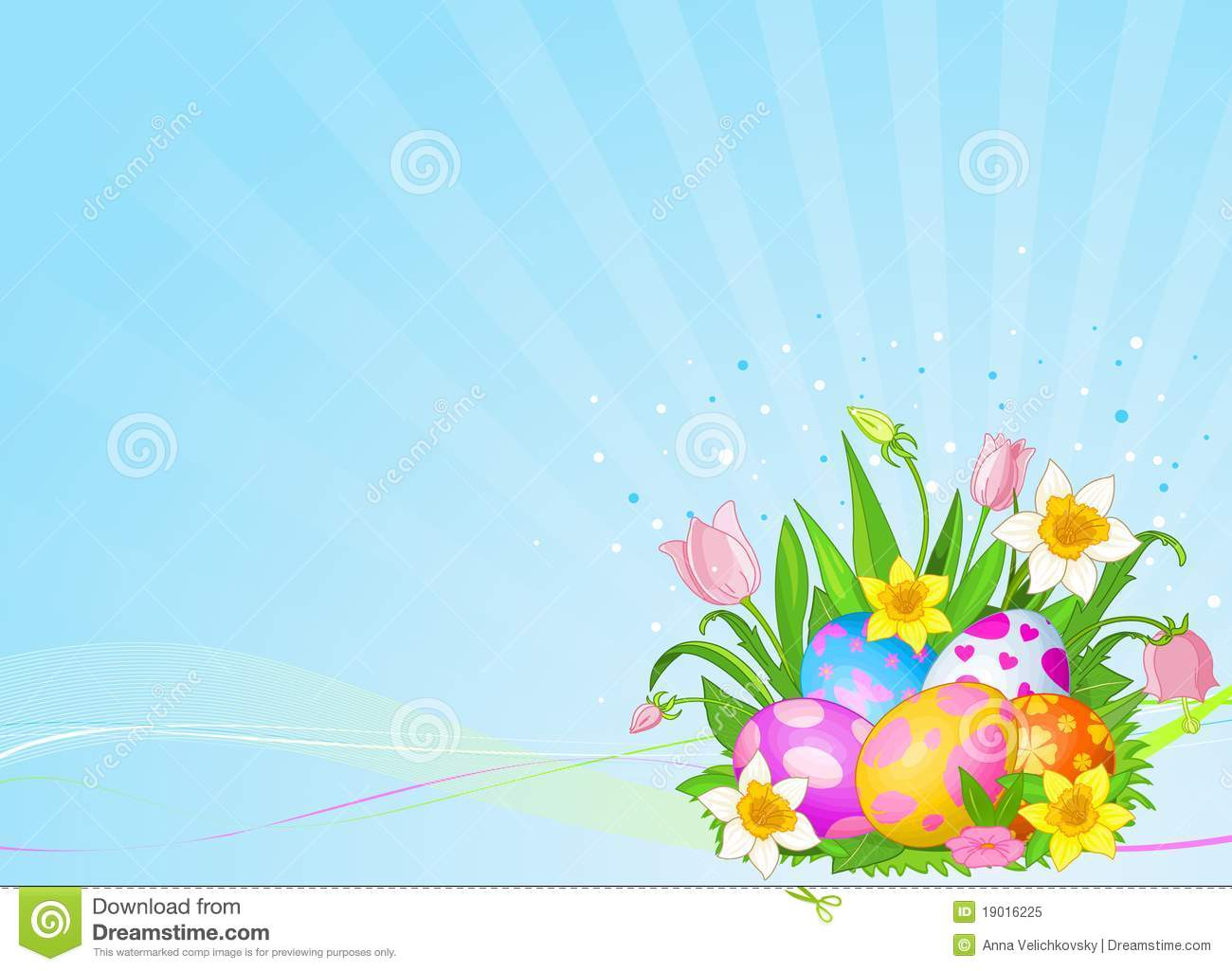 beautiful easter eggs background - photo #20