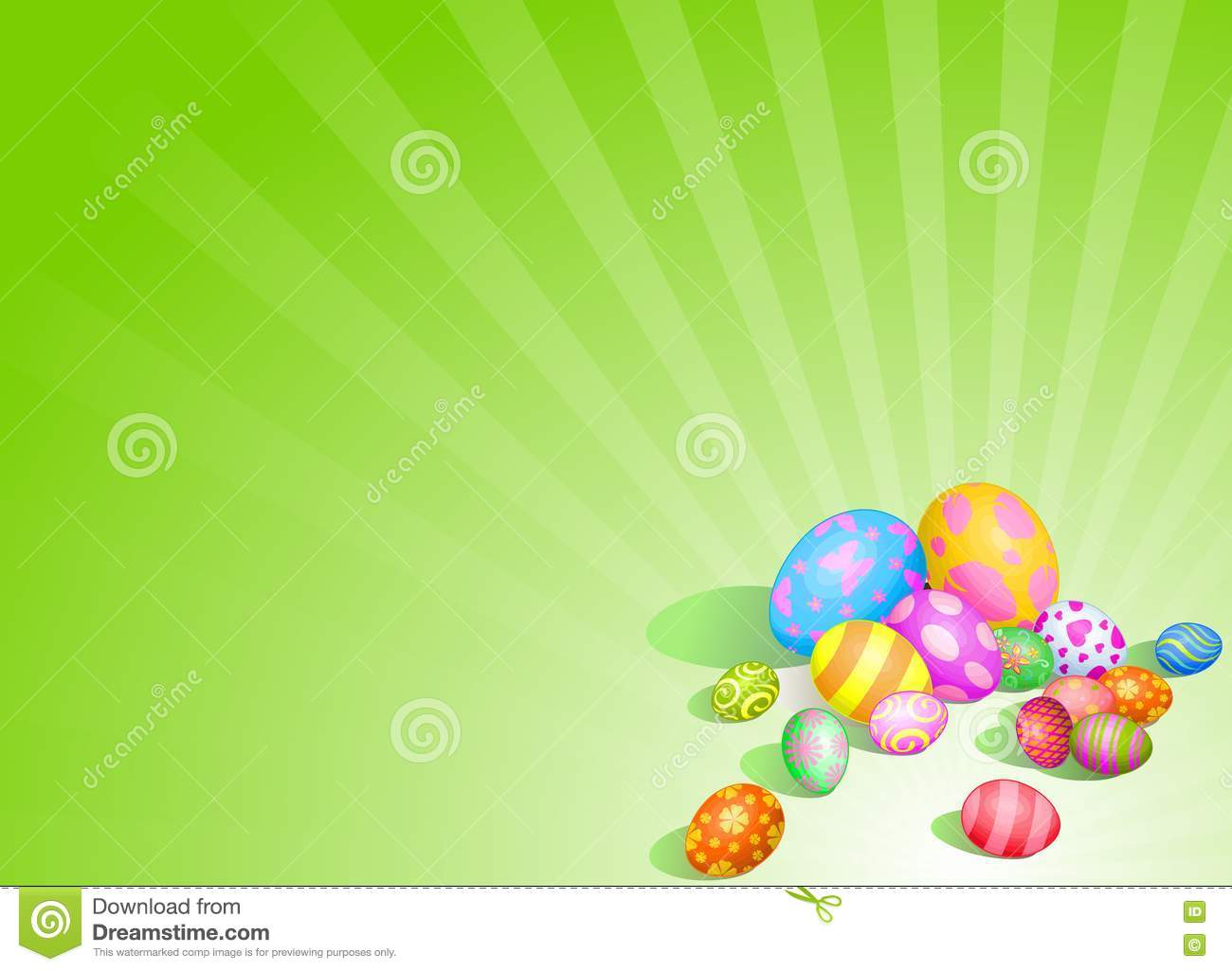 beautiful easter eggs background - photo #5