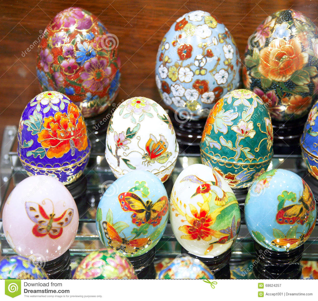 beautiful easter eggs for sale editorial photography image 68624257