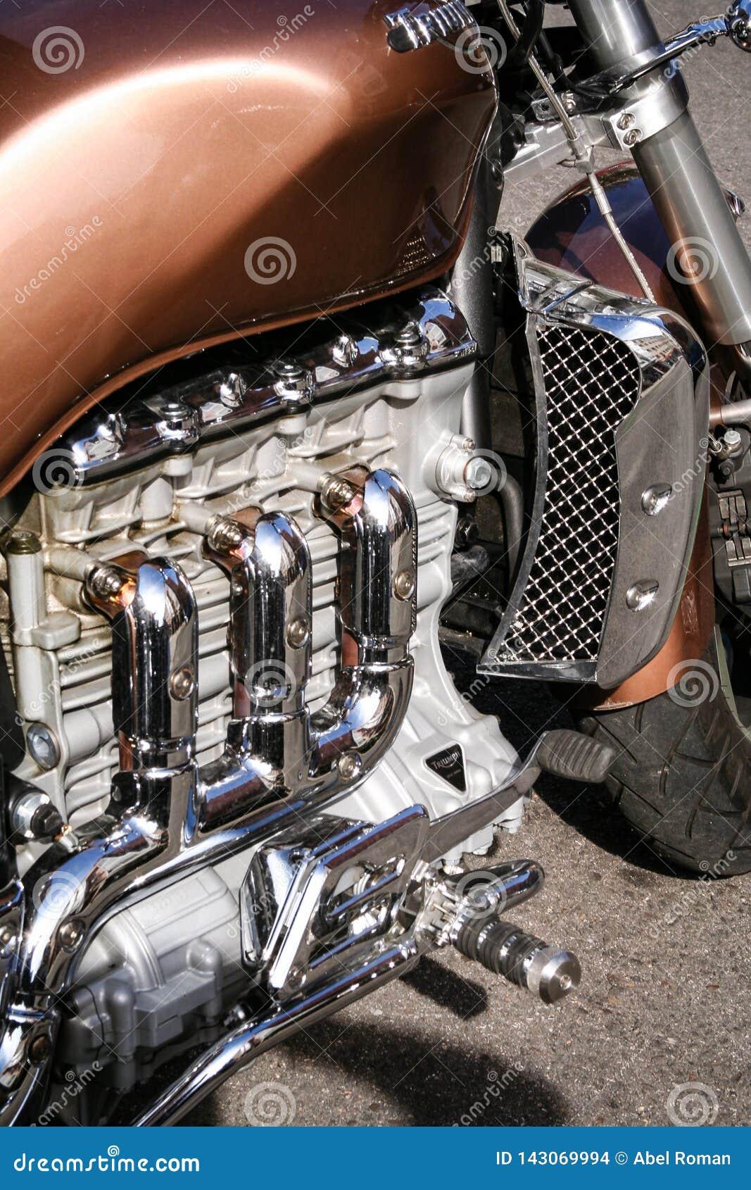 Engine of a Motorbike