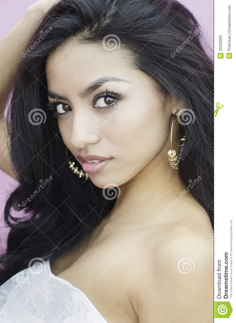 Beautiful Exotic Young Woman Stock Photos - Image: 29332883