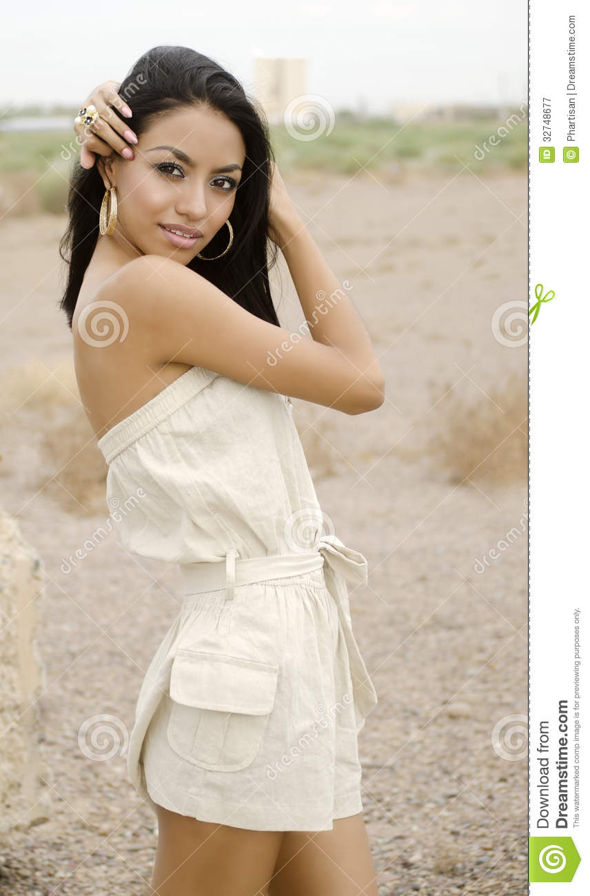 Beautiful Exotic Young Woman Royalty Free Stock Photography - Image: 32748677