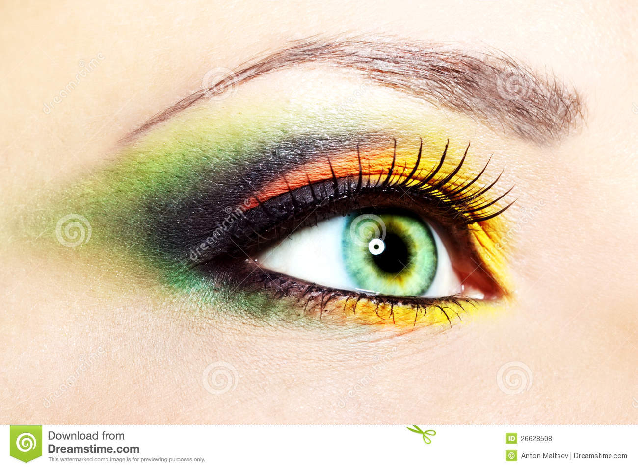 Beautiful Eye Makeup Royalty Free Stock Photos - Image 26628508
