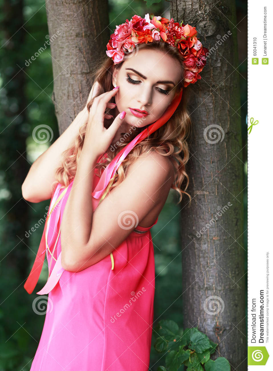 Beautiful Fairy Stock Photo Image Of Creative Female 60041310