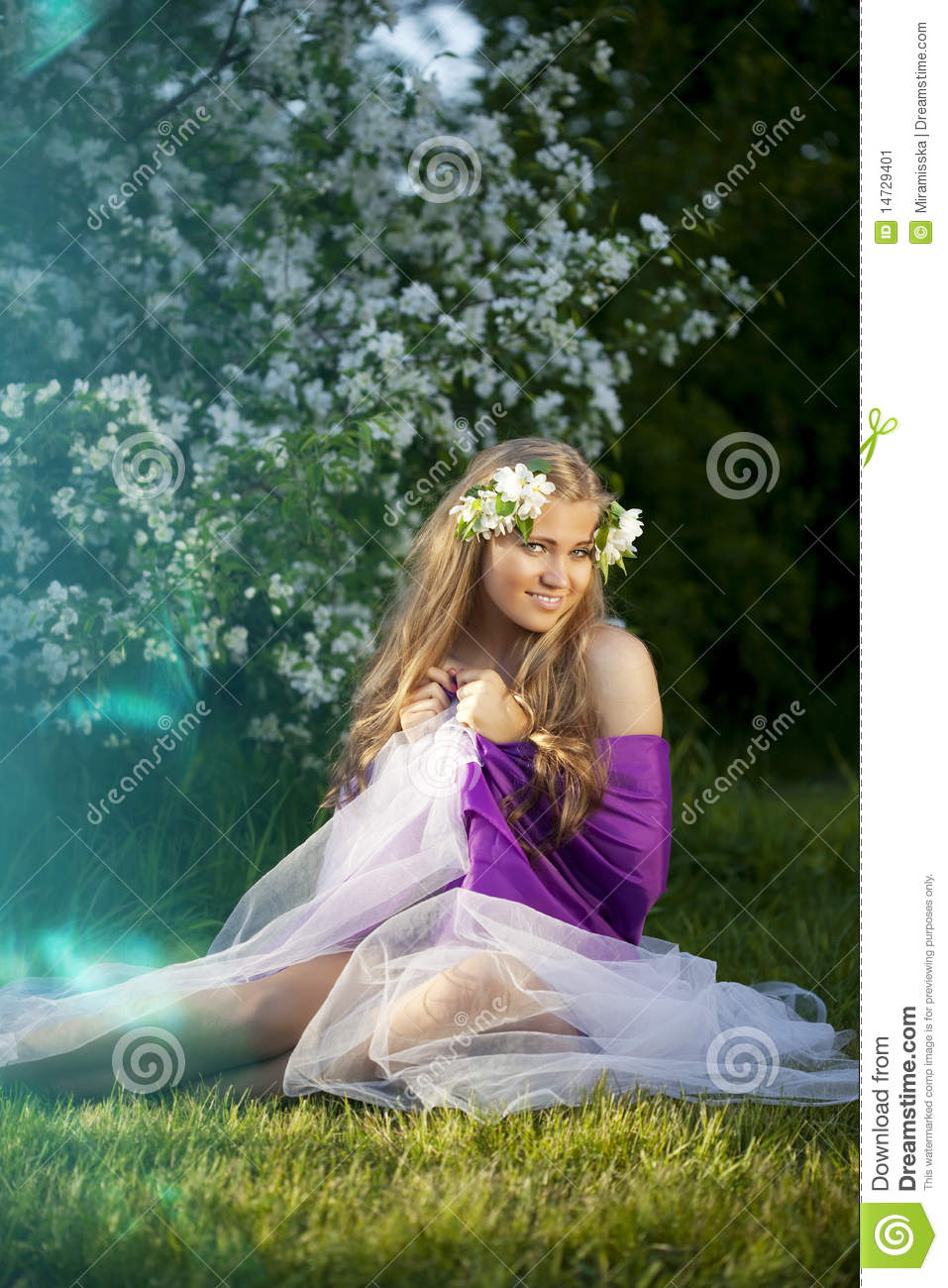 image Girl fairy tale dream girl
