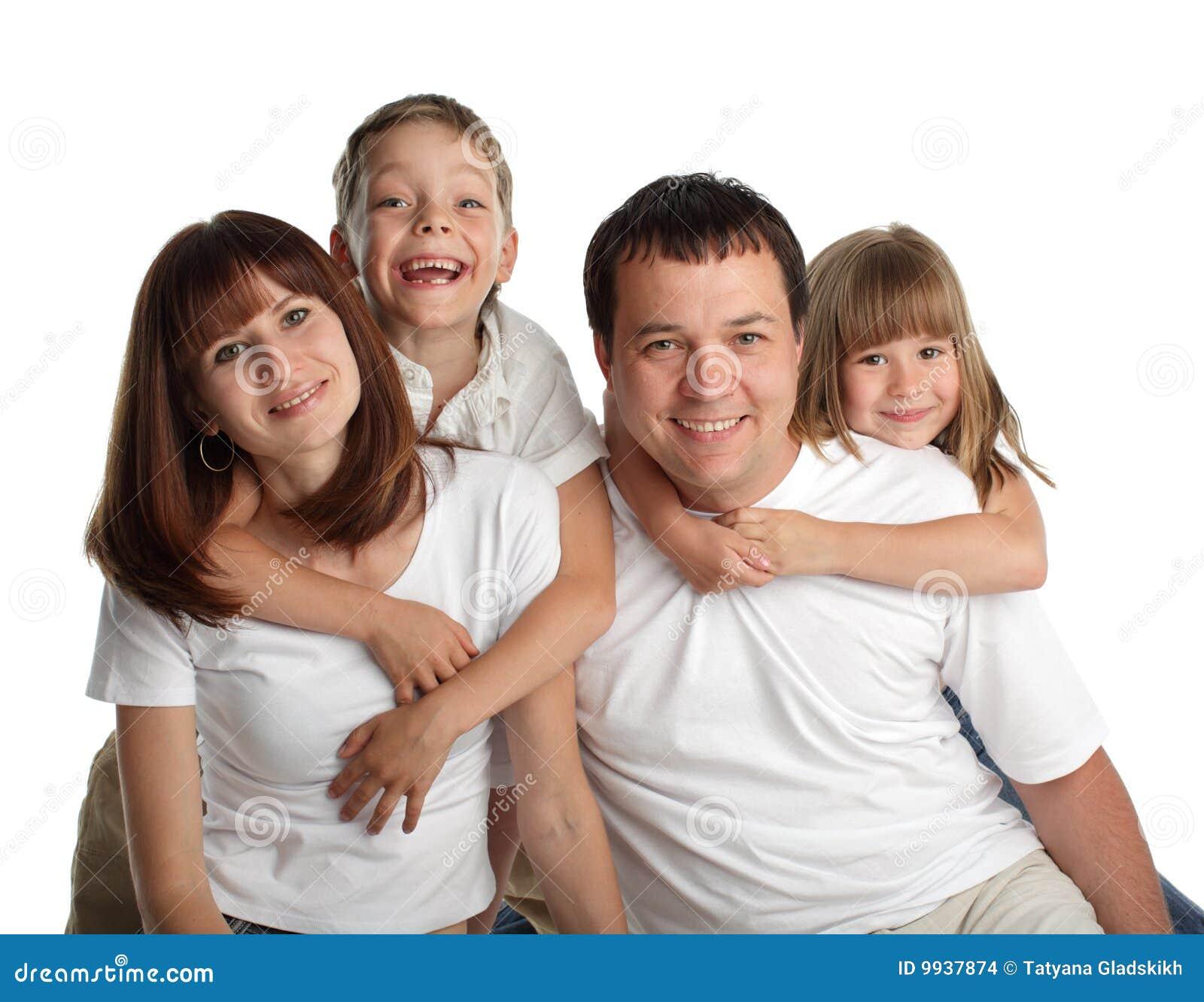 Семья дети фото галерея