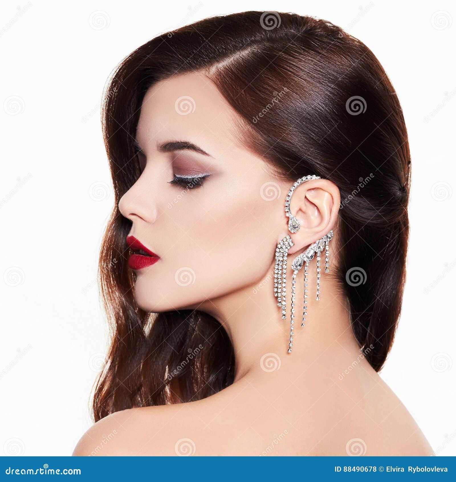 Beautiful and fashion model