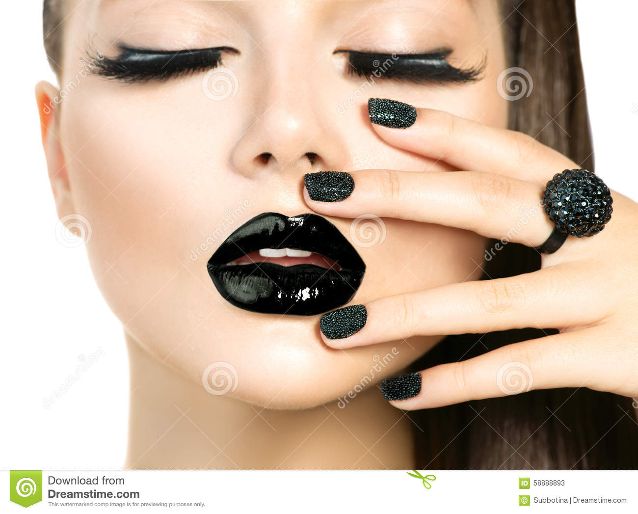 Black woman makeup