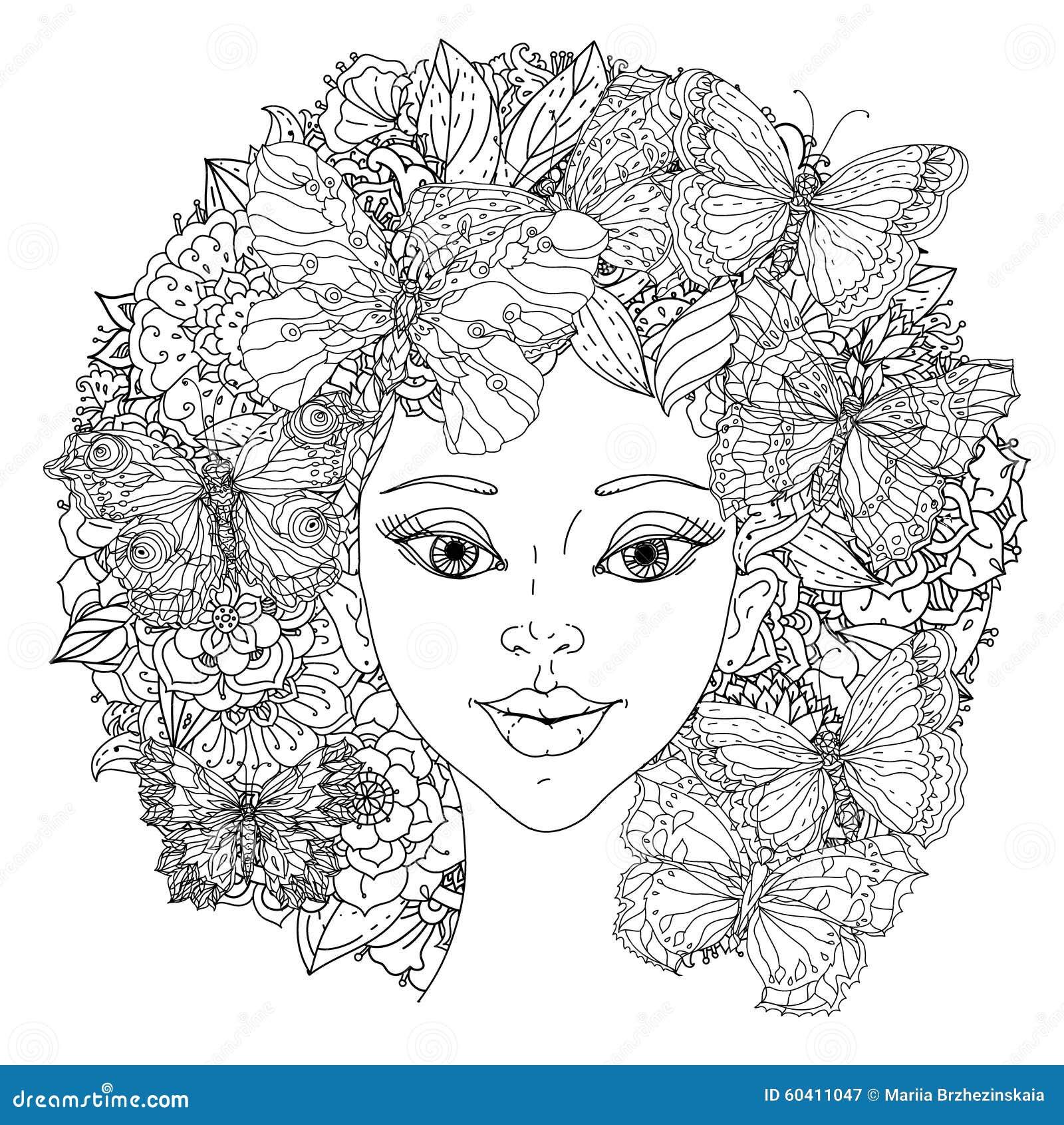 Beautiful Fashion Women Stock Vector Image 60411047