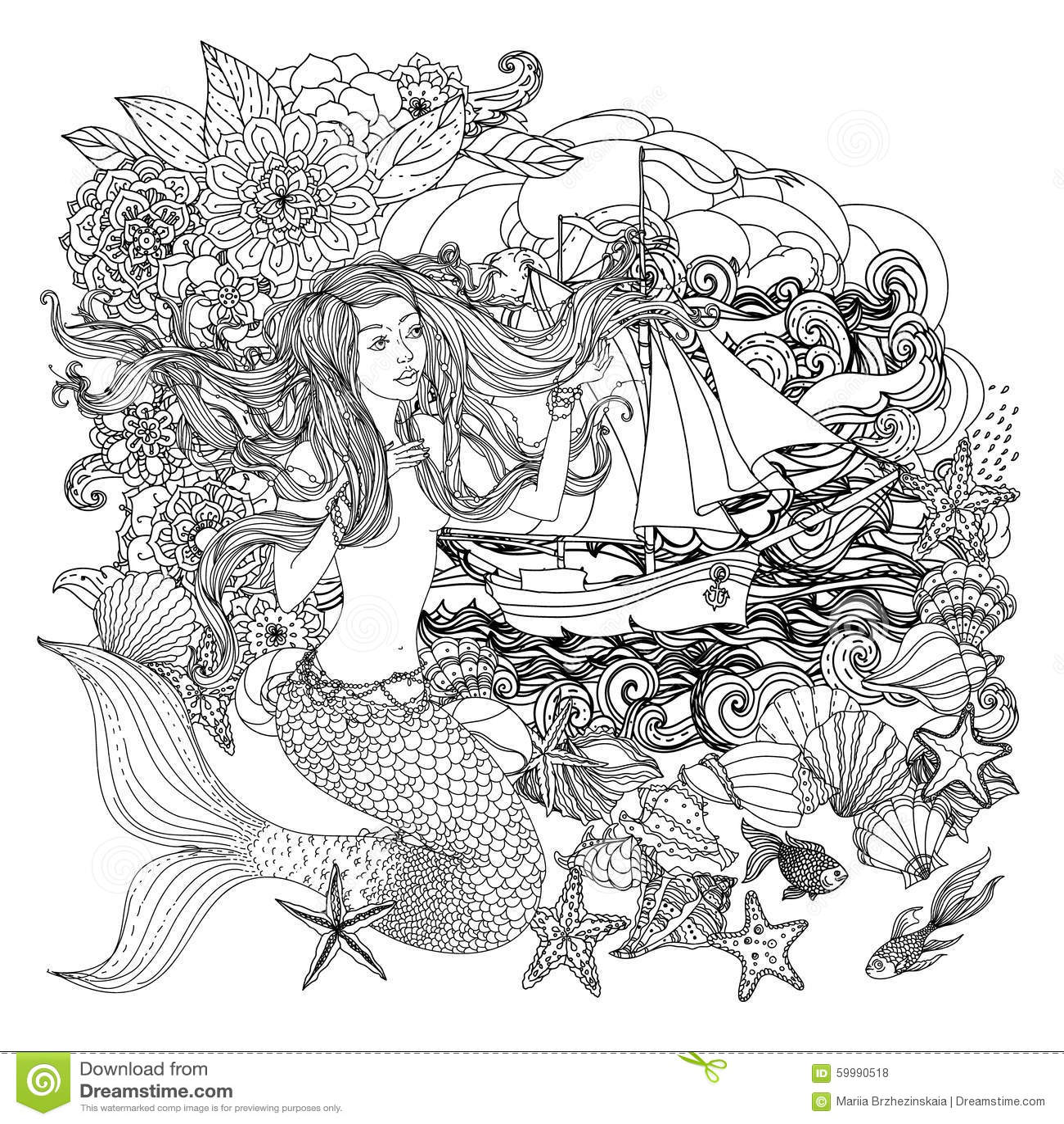 Beautiful Fashion Women Stock Vector Image 59990518