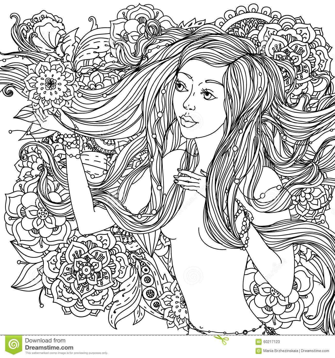 beautiful fashion women stock photos - Sexy Coloring Book
