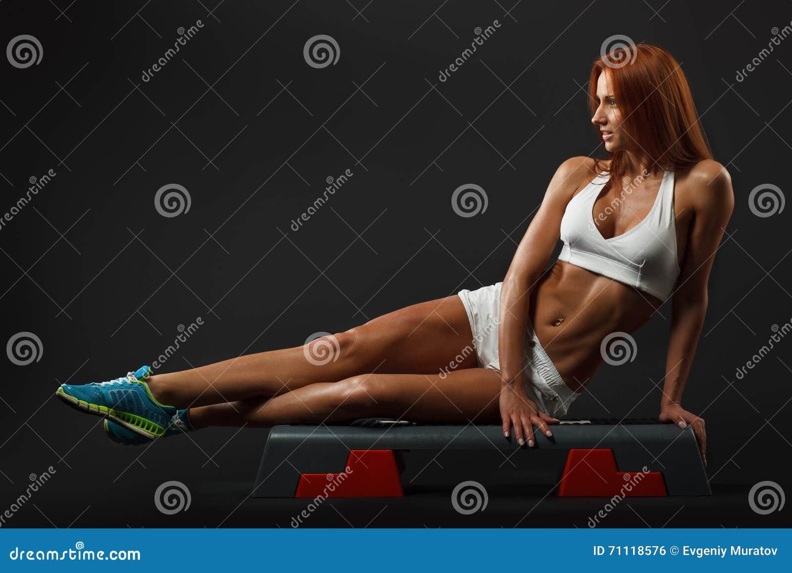 Beautiful fitness female
